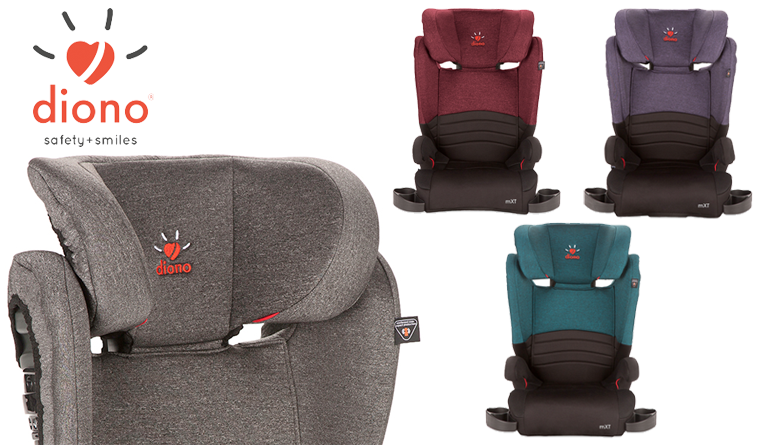 Review Diono MXT Booster Seat
