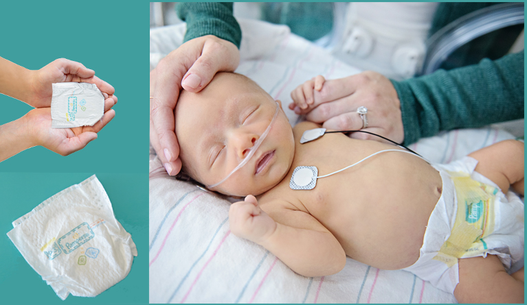 3million Premature Baby nappies donated by Pampers